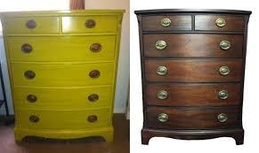 sold vintage drexel heritage bow front mahogany dresser