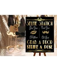 Photo Booth Sign Pre Black Friday Special Great Gatsby Printables Selfie Station