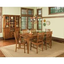 home styles arts and crafts 5 cottage oak dining set 5180