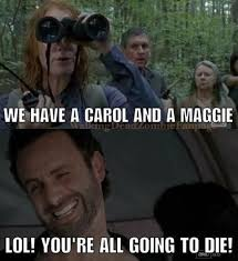 Carol Twd Meme - the walking dead funny meme the walking dead pinterest meme