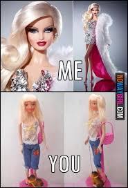 Funny Barbie Memes - barbie humor picmia