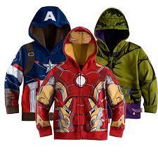 click to buy u003c u003c retail children u0027s coat boys iron man captain