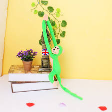 Car Decoration For Valentine S Day by Long Arm Tail Monkey Doll Windom Curtain Car Decoration