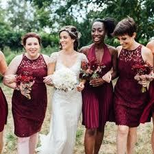 burgundy bridesmaid dresses bridesmaid dresses