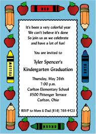kindergarten graduation invitations kawaiitheo