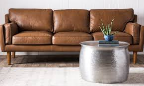 How To Get Scuff Marks Off Walls by How To Remove Stains From Leather Furniture Overstock Com