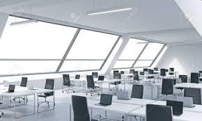 bureau lumineux lieux de travail dans un bureau lumineux moderne moderne tables