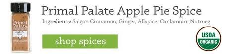 how to use primal palate organic spices at thanksgiving primal