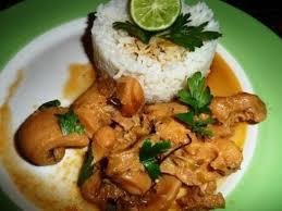recette de cuisine antillaise guadeloupe fricassée de lambis recette plat principal principal et plat