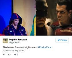 Instant Meme - michael phelps game face becomes instant meme phelpsface funny