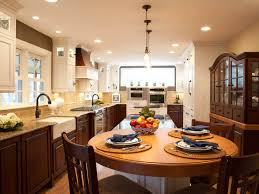 round kitchen island with seating ierie com kitchen table design decorating ideas hgtv pictures hgtv