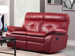 Sofa Loveseat Recliner by Homelegance Wallace Reclining Sofa Set Red Bonded Leather