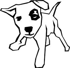 coloriage chien les beaux dessins de animaux à imprimer et