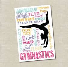 Gymnastics Room Decor 11 Best Gymnastics Room Decor Images On Pinterest Gymnastics