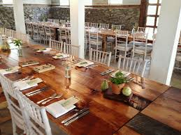 farm tables for rent something vintage rentals