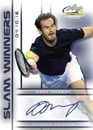 leaf signature series tennis cards checklist