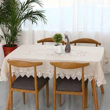 Dining Room Tablecloth online buy wholesale cotton lace tablecloths from china cotton