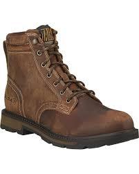 ariat men u0027s groundbreaker 6 u0026quot lace up work boot round toe