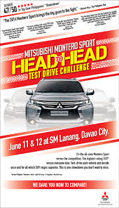 mitsubishi motors philippines invites everyone to take the montero