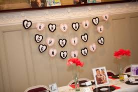 decoration for engagement party at home 1950 s murder mystery engagement party part 2 the decor food