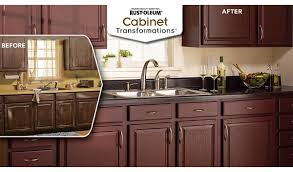 Rustoleum Kitchen Cabinet Rust Oleum Cabinet Transformations