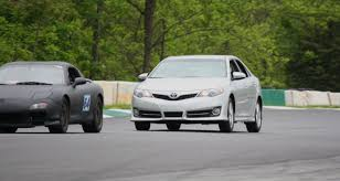 review toyota camry se 2 5l track tested the truth about cars