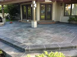 Patio Concrete Designs Best 25 Cement Patio Ideas On Pinterest Concrete Patio