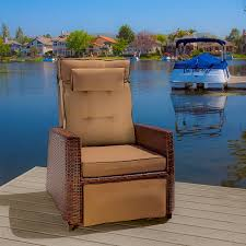 Patio Recliner Chair by Amazon Com Westwood Outdoor Glider Recliner Chairs Set Of 2