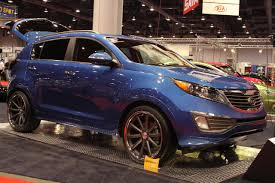 sema 2010 kia sportage work photo gallery autoblog