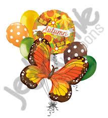 autumn monarch butterfly balloon bouquet u2013 jeckaroonie balloons