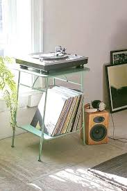 record player table ikea record player shelf folded record bureau miller wall mount record
