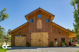 gambrel pole barn this monitor barn kit outside seattle washington was designed by
