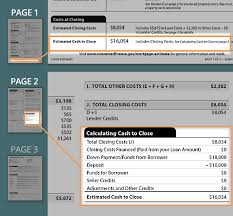Estimating A Mortgage Payment by Loan Estimate Guide Calculating To