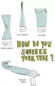 Toothpaste Meme - how do you squeeze your tube toothpaste meme