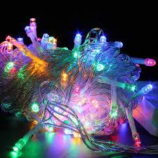 ebay outdoor xmas lights festival holiday hanging tree lights indoor or outdoor string 100