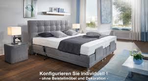 Schlafzimmer Komplett 160x200 Oschmann Boxspringbett Modena Motor 160x200 Cm Individuell