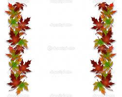 thanksgiving leaf borders clip happy thanksgiving