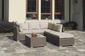Low Price Patio Furniture - 4pcs patio outdoor wicker sectional sofa set outdoor lowest
