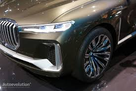 land rover bmw bmw x7 suv concept is a range rover lookalike in frankfurt