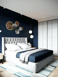 chambre style marin lit avec couette peinture chambre adulte bleu navy style marin