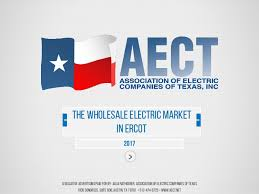 the wholesale electric market in ercot 2017