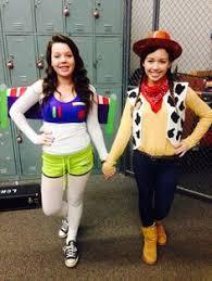 Friend Costumes Halloween Friend Costume Ideas Buzz Woody