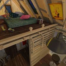 Simple Cabin Plans With Loft Camping Cabin Plans