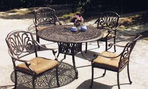 Cast Aluminum Patio Table And Chairs by Aluminum Patio Dining Sets Patio Design Ideas Metal Furniture