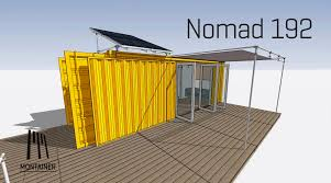 this shipping container home could make a great off grid cabin