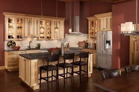 hickory kitchen cabinets images hickory kitchen cabinets shenandoah cabinetry island in hickory