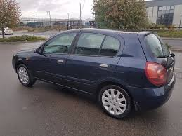 2005 nissan almera se 1 5 petrol manual 5 door hatchback blue