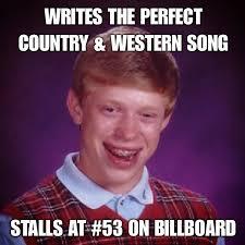 Memes Bad Luck Brian - farce the music monday morning memes bad luck brian vs outlaws