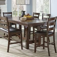 Kitchen Ka Furniture Intercon Kona Counter Height Table With Leaf Wayside Furniture