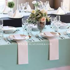 wholesale wedding linens 60 x 102 inches rectangular aqua spa tablecloth wedding
